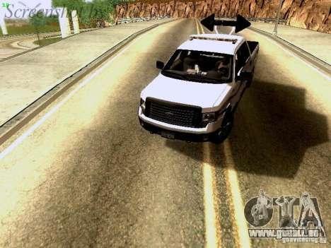 Ford F-150 Road Sheriff pour GTA San Andreas vue arrière