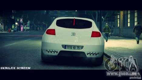 Bugatti Galibier 16C (Bug fix) pour GTA 4 Vue arrière