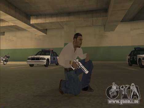 Chrome Weapons Pack pour GTA San Andreas