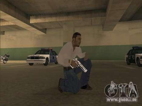 Chrome Weapons Pack für GTA San Andreas