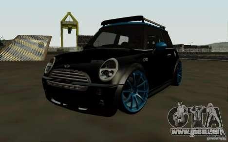 Mini Cooper S Tuned für GTA San Andreas