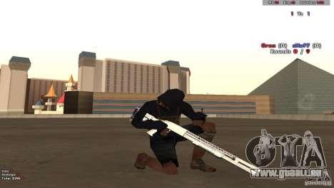 New Chrome Guns v1.0 pour GTA San Andreas deuxième écran