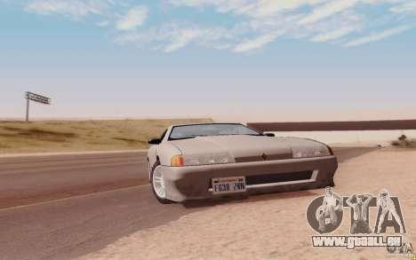 Elegy HD für GTA San Andreas zurück linke Ansicht