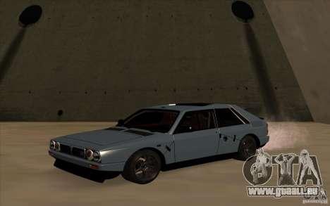 Lancia Delta Integrale für GTA San Andreas