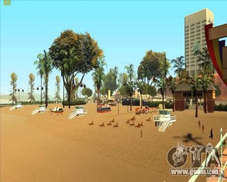 Modern beach in Los-Santos für GTA San Andreas