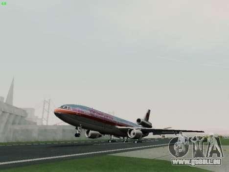 McDonell Douglas DC-10-30 Hawaiian für GTA San Andreas Innenansicht