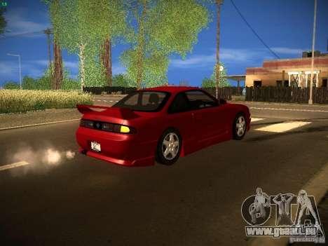 Nissan Silvia S14 Ks Sporty 1994 pour GTA San Andreas vue intérieure