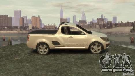 Chevrolet Montana Sport 2011 für GTA 4 linke Ansicht