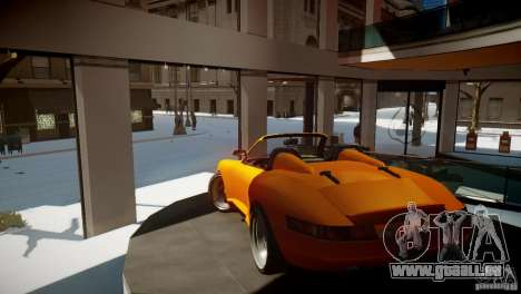 Comet Speedster pour GTA 4 est un droit