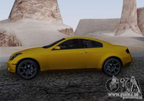 Infiniti G35 für GTA San Andreas linke Ansicht