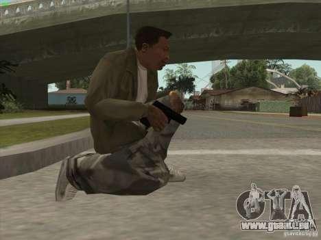 Pistolet G18 pour GTA San Andreas troisième écran