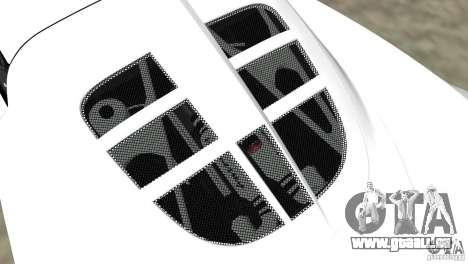 Hennessey Venom GT Spyder für GTA Vice City zurück linke Ansicht