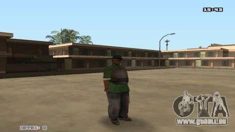 Skin Pack Groove Street pour GTA San Andreas cinquième écran