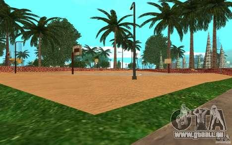 Neue Texturen-Basketballplatz für GTA San Andreas dritten Screenshot