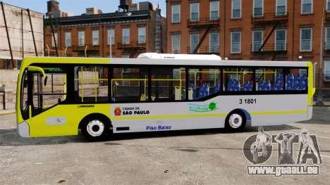 Busscar Urbanuss Pluss 2009 Le VIP Itaim Paulist pour GTA 4 est une gauche
