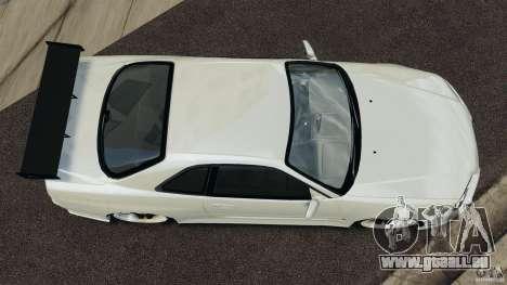 Nissan Skyline GT-R R34 für GTA 4 rechte Ansicht