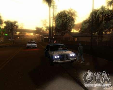 ENBseries pour moyen- et haute puissance PC pour GTA San Andreas cinquième écran