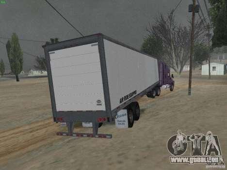 La semi-remorque à la Freightliner Cascadia pour GTA San Andreas