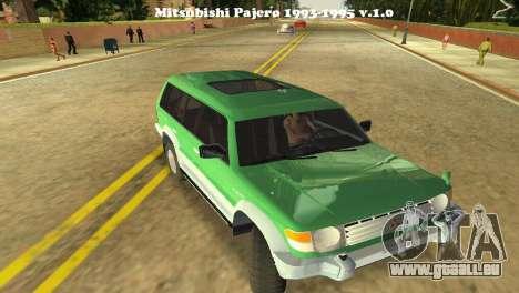 Mitsubishi Pajero 1993 pour GTA Vice City