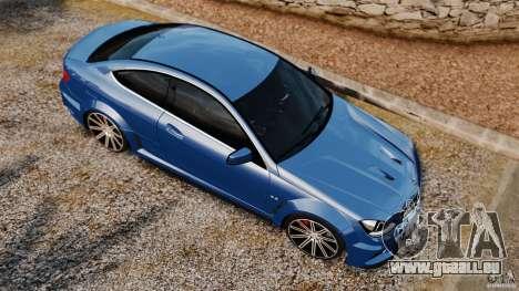 Mercedes-Benz C 63 AMG pour GTA 4 est un droit