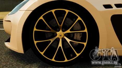 Maserati GT MC Stradale pour GTA 4 est une vue de dessous