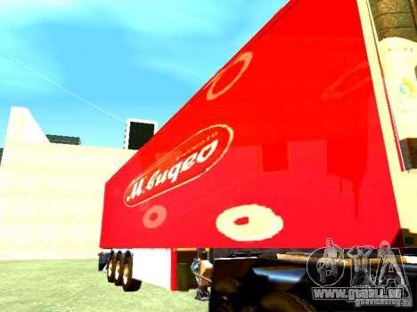 Trailer vidéo pour GTA San Andreas sur la vue arrière gauche