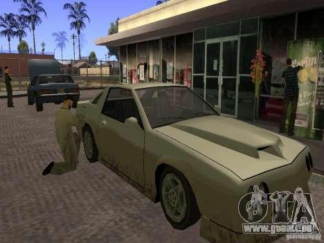 Beschäftigt Tankstelle in Los Santos für GTA San Andreas zweiten Screenshot