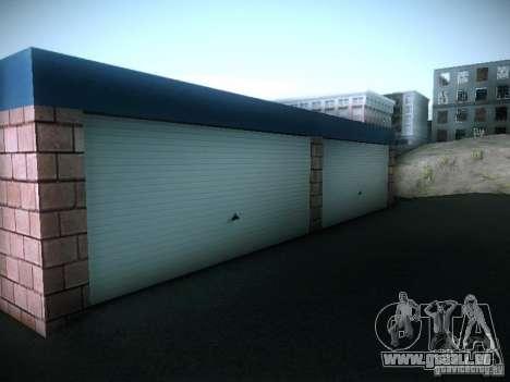 Nouveau garage à San Fierro pour GTA San Andreas cinquième écran