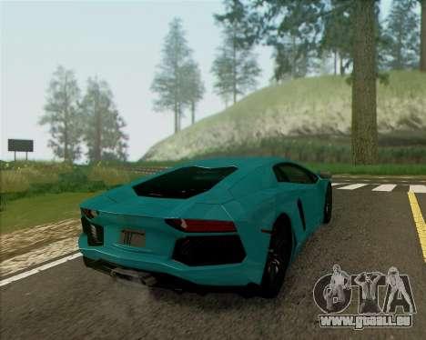 ENB v1.1 pour moyen- et haute puissance PC pour GTA San Andreas quatrième écran