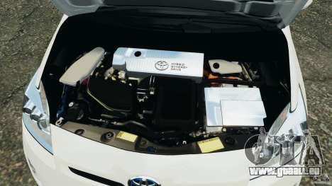 Toyota Prius NY Airport Service für GTA 4 obere Ansicht