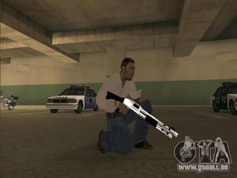 Chrome Weapons Pack pour GTA San Andreas deuxième écran