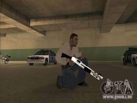 Chrome Weapons Pack für GTA San Andreas zweiten Screenshot