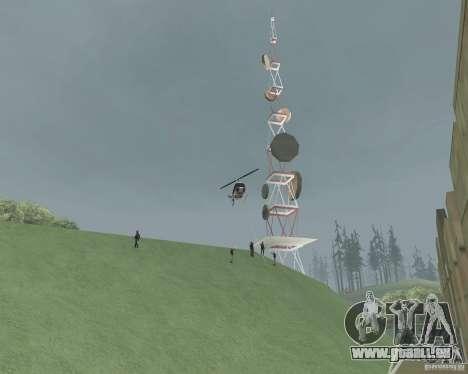 Vinewood eingeschränkten Bereich für GTA San Andreas her Screenshot