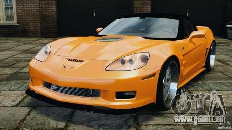 Chevrolet Corvette ZR1 pour GTA 4 est un droit