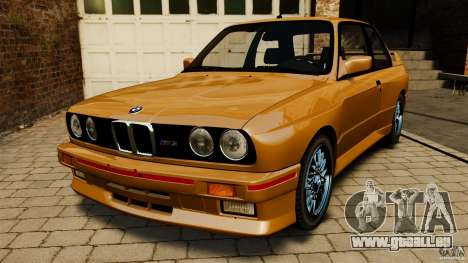 BMW M3 E30 Stock 1991 pour GTA 4