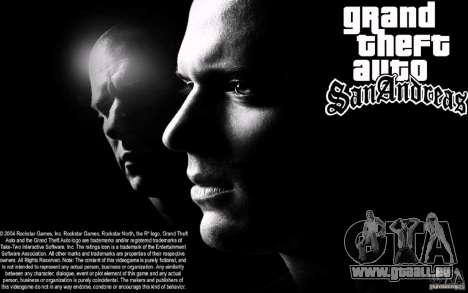 Boot-Bildschirm Escape für GTA San Andreas