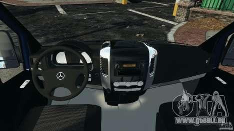Mercedes-Benz Sprinter G4S ES Cash Transporter für GTA 4 Rückansicht