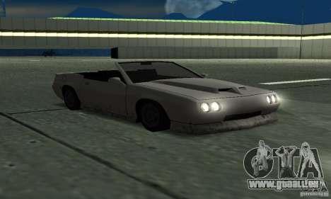 Buffalo Cabrio für GTA San Andreas rechten Ansicht