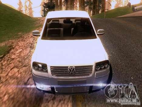 Volkswagen Passat B5+ pour GTA San Andreas roue
