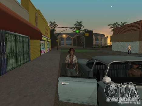 Remember Me Nilin für GTA San Andreas her Screenshot