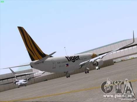 Boeing 737-800 Tiger Airways pour GTA San Andreas vue de droite