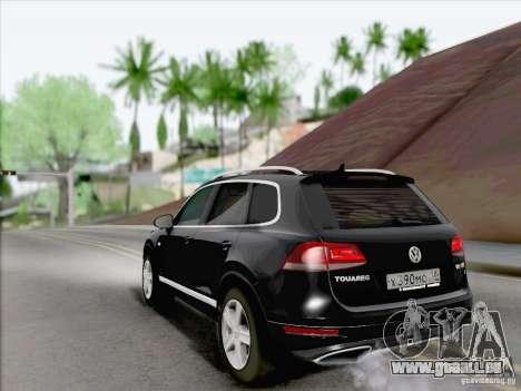 Volkswagen Touareg 2012 für GTA San Andreas rechten Ansicht
