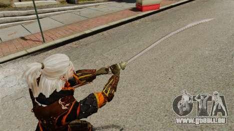 Schwert der Hexer-v2 für GTA 4 dritte Screenshot