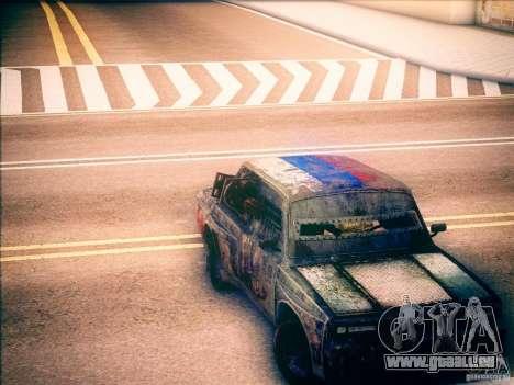 VAZ 2105 Gladiator pour GTA San Andreas vue de droite