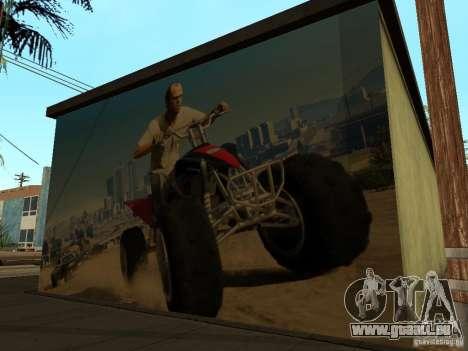 Poster de GTA 5 pour GTA San Andreas quatrième écran