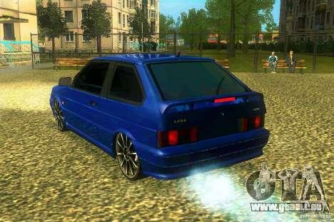 VAZ 2113 LT pour GTA San Andreas laissé vue