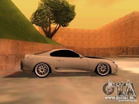 Toyota Supra GTS pour GTA San Andreas laissé vue