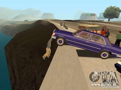 Un ACCIDENT sur le pont de Garver pour GTA San Andreas deuxième écran
