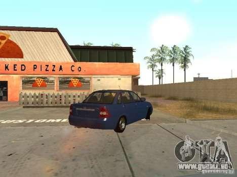 LADA 2170 Drain pour GTA San Andreas laissé vue
