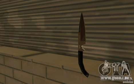Nouveau couteau pour GTA San Andreas troisième écran